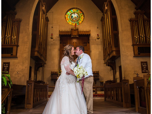 Brittni & Patrick | St. Paul's Episcopal Church | Wilmington, NC | Destination Wedding Photo