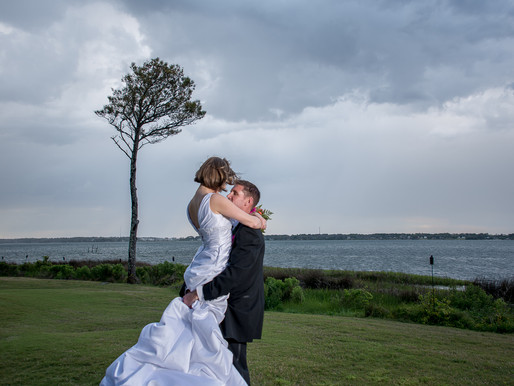 Heather & James | Country Club Of The Crystal Coast | Pine Knoll Shores, NC | Allie Miller Weddi
