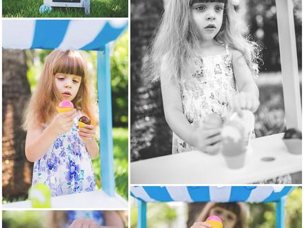 Áine's Ice Cream Stand Shoot | Miami, Florida | Allie Miller Photographer | Destination Lifestyl