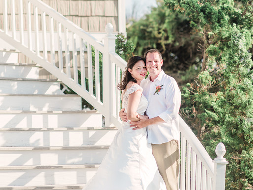 Kristen + Eric | Private Elopement | Pine Knoll Shores, NC | Allie Miller Weddings | Destinations