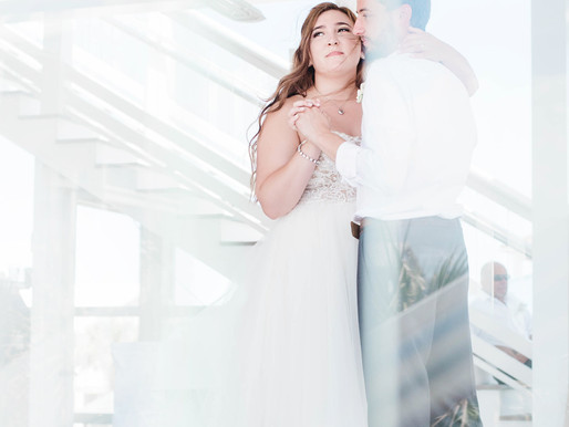 Lindsay + Brandon | Atlantic Beach Destination Wedding | The Celebration Cottage | Dorian Hurricane