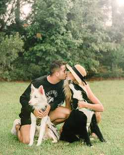 Couple with FurBabies