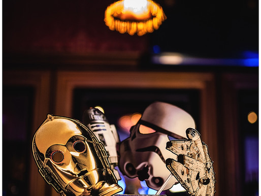 Star Wars Day Rehearsal Dinner | Bistro By The Sea | A Seaside Weddings and Events | Allie Miller We