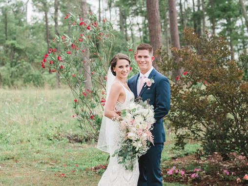 Krista + Jason | Neuse Breeze Wedding Venue | Havelock, NC | Destination Weddings | Allie Miller Wed