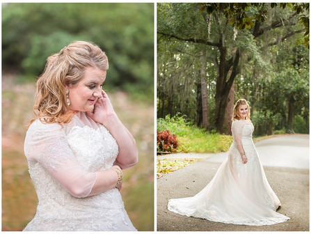 Brittni's Bridals | Wilmington, NC | New Hanover County Parks | Allie Miller Weddings | North Ca