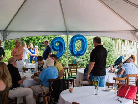 90th Birthday Party | Beaufort Grocery Co. | Beaufort, NC | Allie Miller Photography