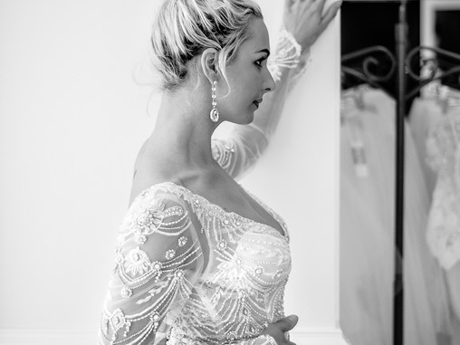 Your Wedding Gown & Accessories | Allie Miller Weddings | NC Wedding Photographers | Wilmington