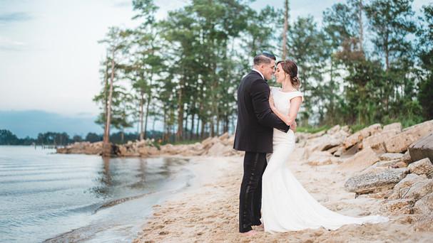 Neuse Breeze Couple on Beach