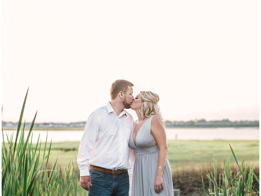 Rebecca + Michael | The Watson House & Garden Engagement Session | Summer Sessions | Emerald Isl
