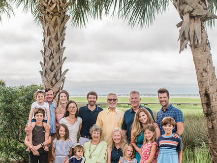Family Sessions | Atlantic Beach, NC | Surprise Birthday Session For Grandma | Allie Miller Photos