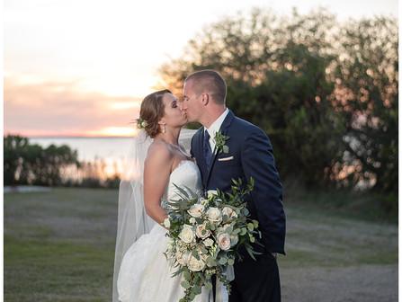 Kaitie + Jared | Country Club Of the Crystal Coast | Destination Weddings | Allie Miller Weddings |