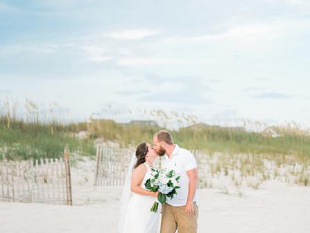 Reneè + 'Woody' | Atlantic Beach, NC | Destination Beach Wedding | A Seaside Weddings & Events, EI