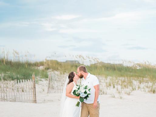 Reneè + 'Woody'   Atlantic Beach, NC   Destination Beach Wedding   A Seaside Weddings & Events, EI