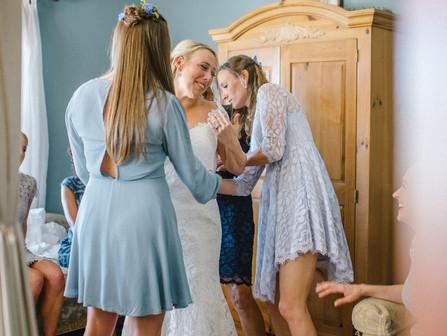 Erin & William | Watson House Estate Wedding | Emerald Isle Wedding Venue | Allie Miller Wedding