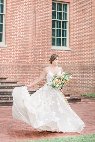 Bride Tryon Palace New Bern NC