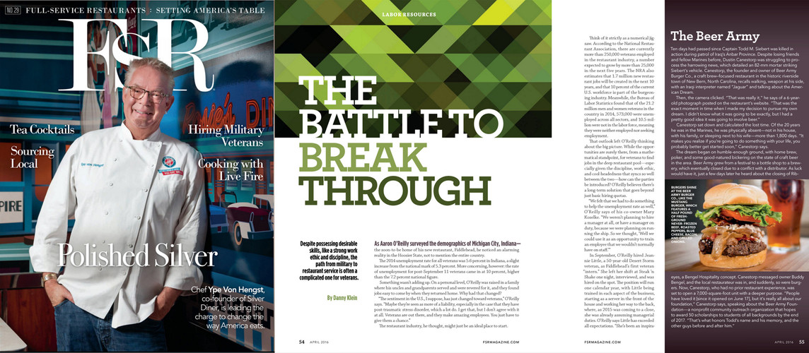 FsR Magazine Feature