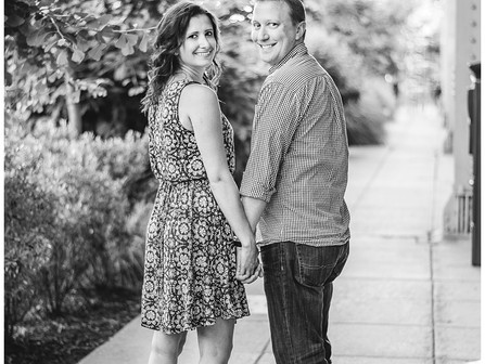 Ashley + Jason | Washington, DC | Destinations Engagement Session | K Street in Georgetown | Allie M