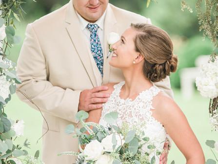 Rachel + Logan | Neuse Breeze | Havelock, NC | Destination Weddings | Wedding Event Collaboration |