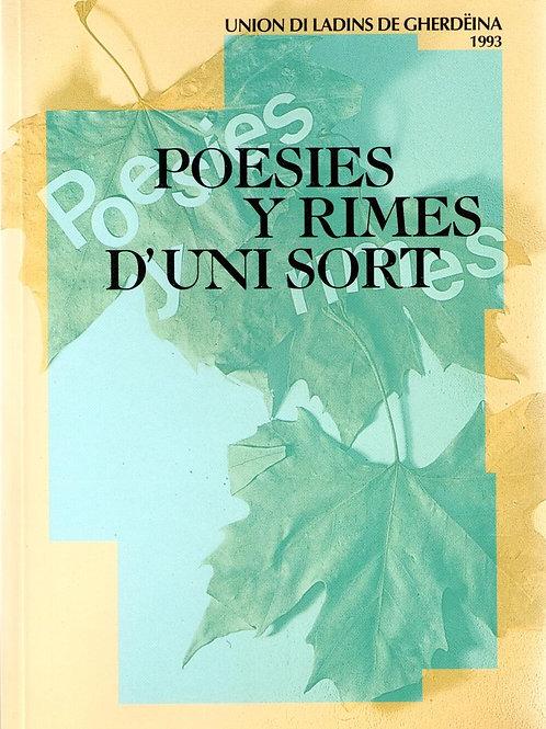 Poesies y rimes d'uni sort