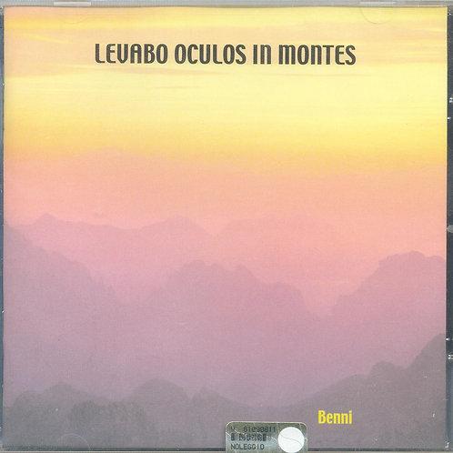 CD Benni, Levabo oculos in montes