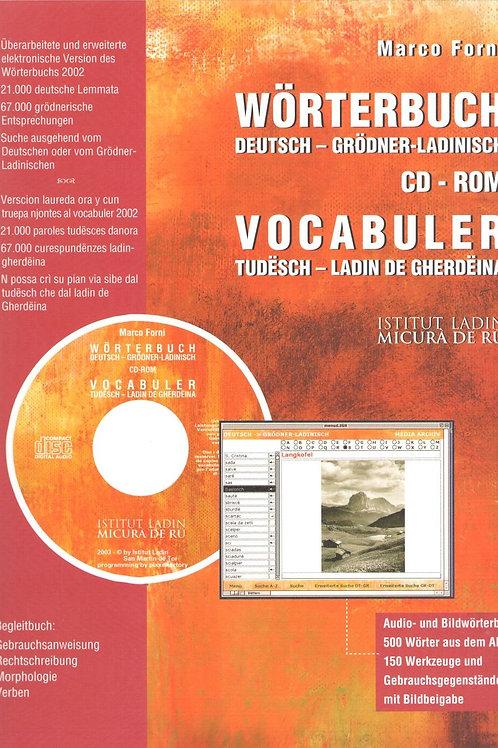 Wörterbuch Deutsch - Grödner ladinisch CD-ROM