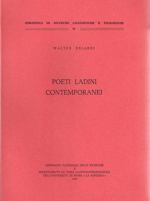 Poeti ladini contemporanei (Walter Belardi)