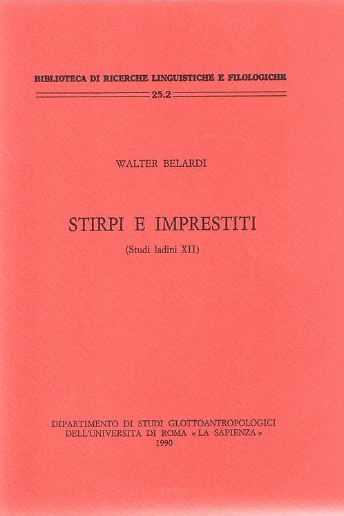Stirpi e impresti (Walter Belardi)