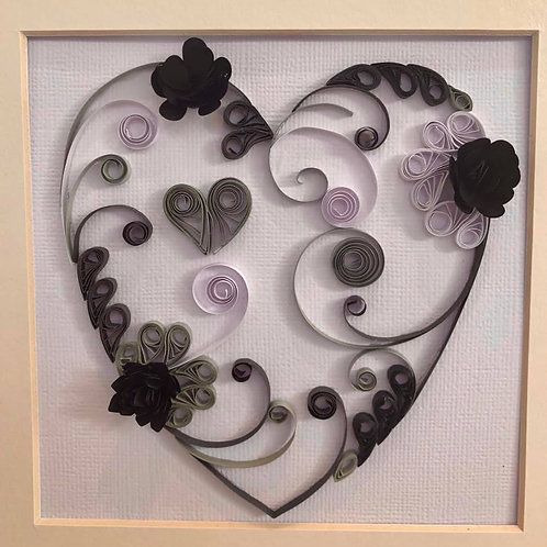 Quilling - Make a Decorative Heart, Friday 24th January, 6pm - 8pm