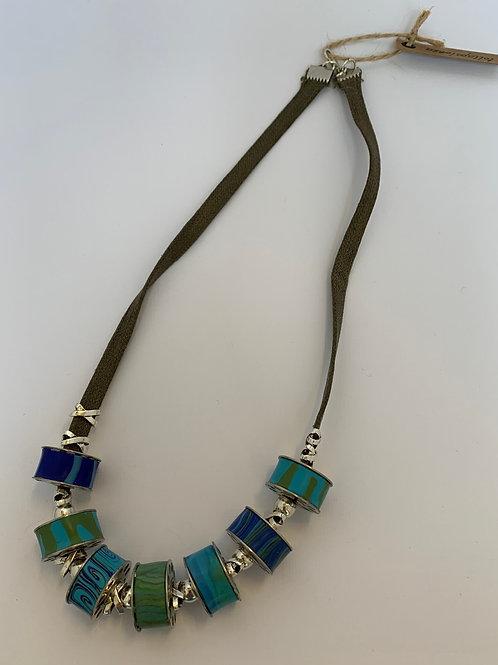 Thread Bobbin Necklace