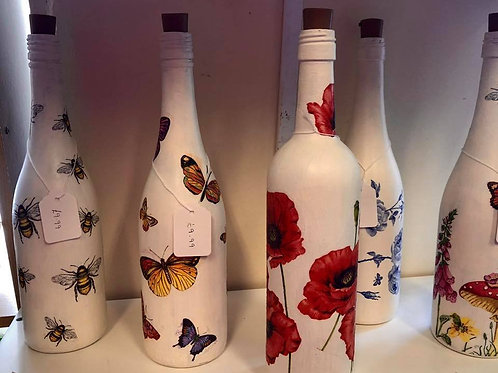 Decoupage A Bottle - Friday, 17th January, 6pm - 8pm