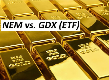 Pair: Buy: NEM, Sell: GDX.  Target +25%. At an extreme!