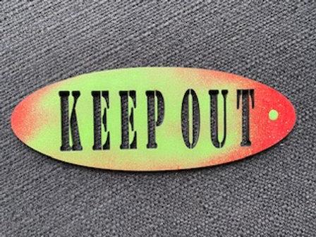 Bordje Keep Out