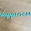 Thumbnail: Woord uit hout (vrije keuze)