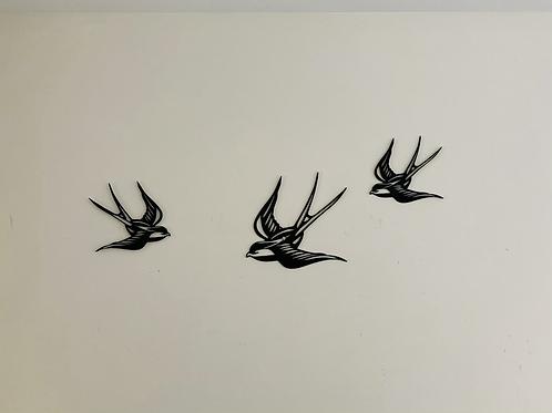 Zwaluw (set van 3)