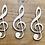 Thumbnail: Muzieknoot, verschillende formaten