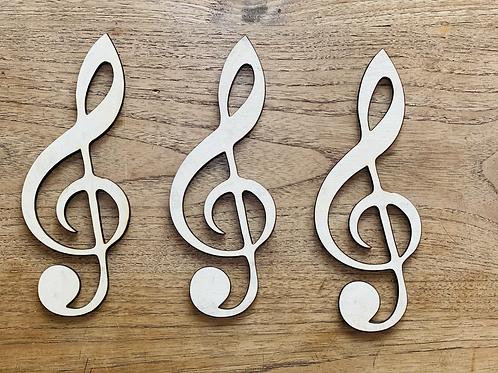Muzieknoot, verschillende formaten