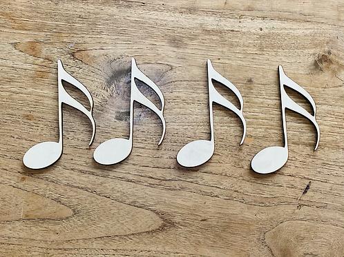 Muzieknoot, variant 2