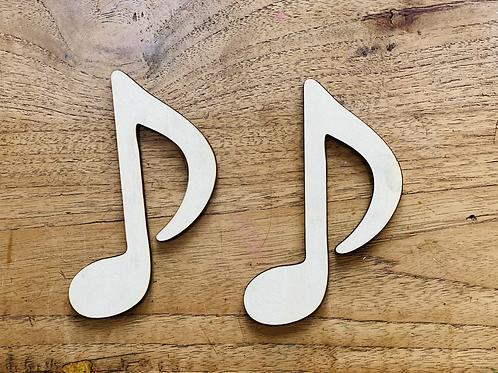 Muzieknoot, variant 1