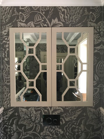 Internal doors with fret work
