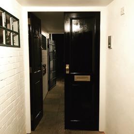 Entrance corridor doors