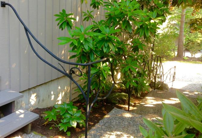 Outdoor Botanical Railing