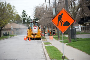 Traffic Management, Signs, Wokers, Trades, Bollards, Setup