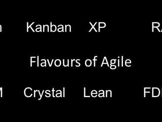 Which flavour of Agile would you like?