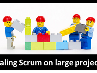 How to apply Scrum in large projects?