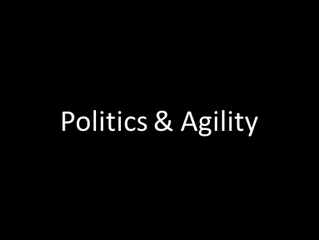 Is your Organizational politics hurting your Agility?