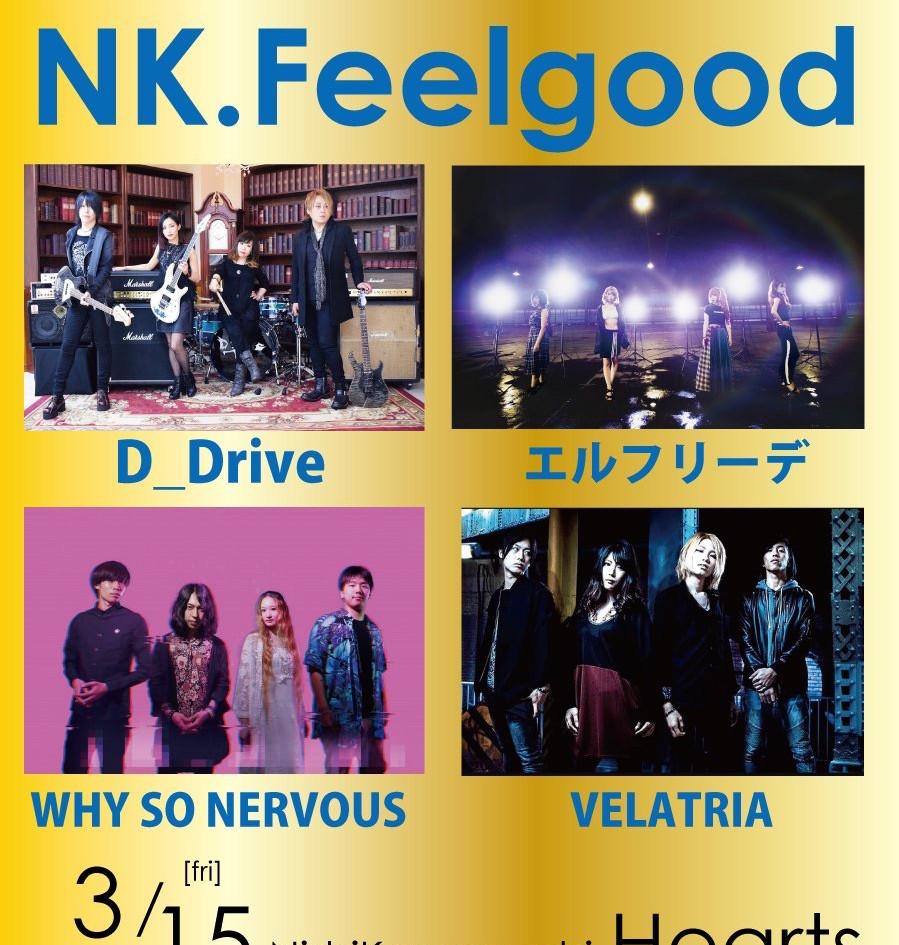 Hearts Presents NK.Feelgood