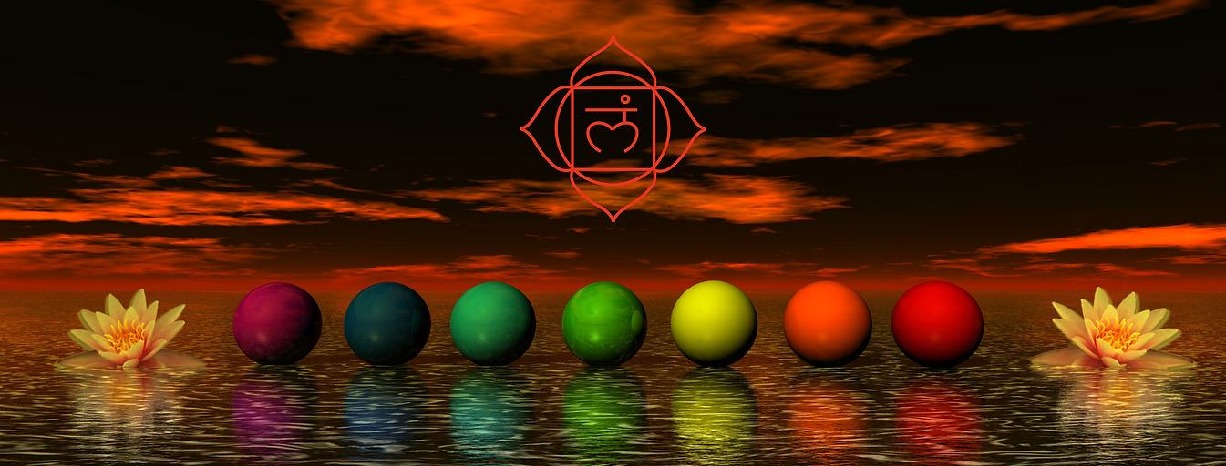 Light therapy nanaimo bc chakra colours.