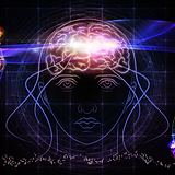 girl consciousness brain activity and light