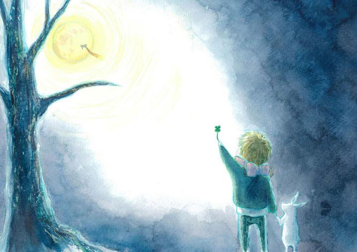 えほん:月のうさぎ