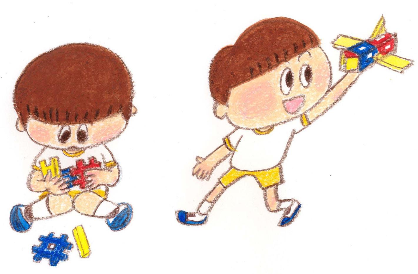 遊ぶちびっこ3